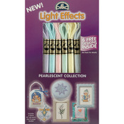 Pearlescent - DMC Light Effects Floss Pack 6/Pkg