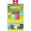 Fluorescent - DMC Light Effects Floss Pack 6/Pkg
