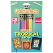 Tropical Glow - DMC Light Effects Floss Pack 6/Pkg