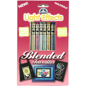 Blended Favorites - DMC Light Effects Floss Pack 6/Pkg