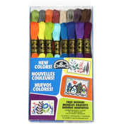 New Floss Colors - DMC Embroidery Floss Pack 8.7 Yards 16/Pkg