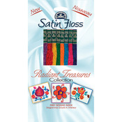 Radiant Treasures - DMC Satin Floss Collection Pack