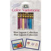 Blue Lagoon 8/Pkg - DMC Color Variations Floss Pack