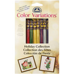 Holiday 8/Pkg - DMC Color Variations Floss Pack