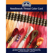 Needlework Threads Printed Color Card - DMC