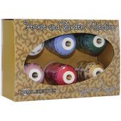 Thimbleberries Cotton Thread Collection 500yd 6/Pkg - Home & Garden Light & Brig