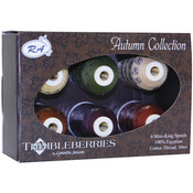 Autumn - Thimbleberries Cotton Thread Collection 500yd 6/Pkg