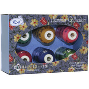 Summer - Thimbleberries Cotton Thread Collection 500yd 6/Pkg