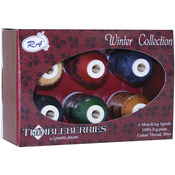 Winter - Thimbleberries Cotton Thread Collection 500yd 6/Pkg