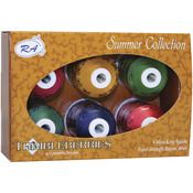 Summer - Thimbleberries Rayon Thread Collection 1,100yd 6/Pkg