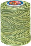 Spring Greens - Star Mercerized Cotton Thread Variegated 1,200yd