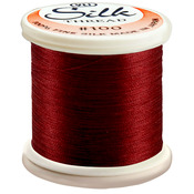 Wine Red - Silk Thread 100wt 200m