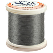 Dark Gray - Silk Thread 100wt 200m