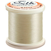 Natural - Silk Thread 100wt 200m