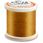 Dull Gold - Silk Thread 100wt 200m