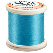 Bright Turquoise - Silk Thread 100wt 200m