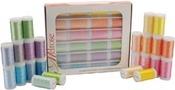 Pastels - Melrose Trilobal Polyester Thread Assortment 24/Pkg