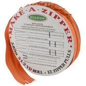 Make - A - Zipper Kit 5-1/2yd - Orange