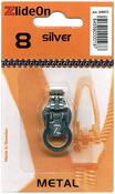 Silver - ZlideOn Zipper Pull Replacements Metal 8
