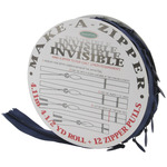 Make - A - Zipper Kit Invisible 4-1/2yd - Navy