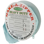 Make - A - Zipper Kit Heavy - Duty 3yd - Aqua Blue