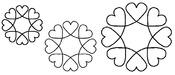 """4"""", 5"""" & 7"""" Blocks 8""""X18"""" - Quilt Stencils"""