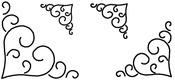 """3"""", 4"""", 5"""" & 7"""" Blocks 8""""X18"""" - Quilt Stencils"""