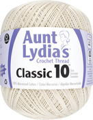 Natural - Aunt Lydia's Classic Crochet Thread Size 10 Value