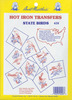 50 State Birds - Aunt Martha's Iron-On Transfer Collections