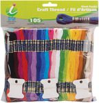 Craft Thread Giant Pack, Assorted Colors