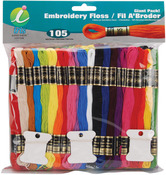 Embroidery Floss Giant Pack 8 Meters 105/Pkg-