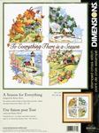 A Season For Everything Stamped Cross Stitch Kit