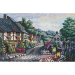 Memory Lane - Gold Collection Counted Cross Stitch Kit