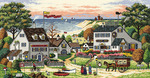 Cozy Cove - Gold Collection Counted Cross Stitch Kit