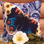 "15-3/4""X15-3/4"" - Magique Pillow Cross Stitch Kit"