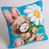 """15-3/4""""X15-3/4"""" - Mr Jeannot Pillow Cross Stitch Kit"""