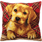 "15-3/4""X15-3/4"" - Brady Pillow Cross Stitch Kit"