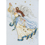 Twilight Angel - Gold Petites Counted Cross Stitch Kit
