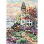 Beacon At Daybreak - Gold Petites Counted Cross Stitch Kit