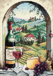 Dreaming Of Tuscany - Gold Petites Counted Cross Stitch Kit