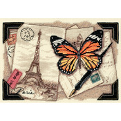 Travel Memories - Gold Petites Counted Cross Stitch Kit