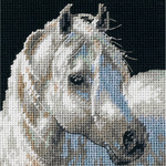 """5""""X5"""" Stitched In Thread - Gentle Strength Mini Needlepoint Kit"""