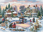 A Treasured Time - Gold Collection Counted Cross Stitch Kit
