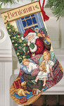 Sweet Dreams Stocking - Gold Collection Counted Cross Stitch Kit