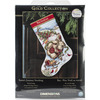 Santa's Journey Stocking - Gold Collection Counted Cross Stitch Kit