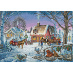 Sweet Memories - Gold Collection Counted Cross Stitch Kit