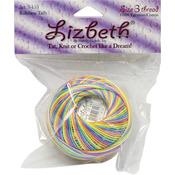 Rainbow Taffy - Lizbeth Cordonnet Cotton Size 3
