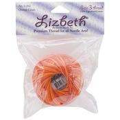 Orange Crush - Lizbeth Cordonnet Cotton Size 3