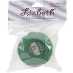 Christmas Green - Lizbeth Cordonnet Cotton Size 3