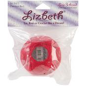 Christmas Red - Lizbeth Cordonnet Cotton Size 3